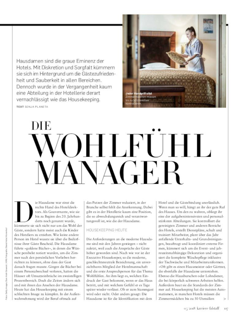 Andrea Pfleger - Falstaff Karriere Nr. 05/2018 Seite 117
